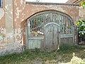 Veszprém 2016, műemlék lakóház kapu, Szent István utca 6.jpg