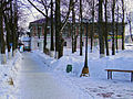 Vetluga. Winter evening on The First May Day Square.jpg