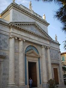 Facciata della chiesa di Sant'Andrea