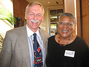 Minnijean Brown-Trickey - Image: Vic Snyder and Minnijean Brown Trickey