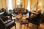 Vice President Dick Cheney meets with Senators Lindsey Graham, John Warner, and John McCain.jpg