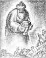 Victor Ion Popa - Darul pe care Moș Crăciun îl aduce consilierilor. Alegeri comunale. Gazeta Municipală, 20 dec 1936.png