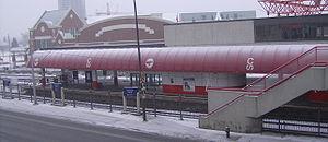 Victoria Park/Stampede station - Image: Victoria Park Stampede (C Train) 1