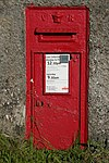 Victorian Postbox between Innellan and Cluniter - geograph.org.uk - 851633.jpg