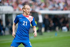 Vida Domagoj - Croatia vs. Portugal, 10th June 2013.jpg
