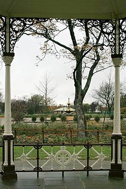 View From the Bandstand to the Central Fountain - geograph.org.uk - 609509
