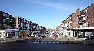 Harold Hill Human settlement in England