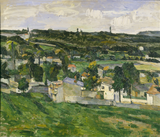 View of Auvers-sur-Oise (c. 1879) by Cézanne