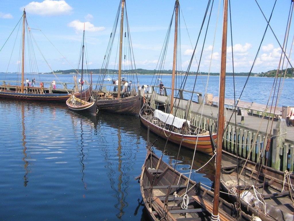 Viking ship museum Roskilde Denmark 201172962