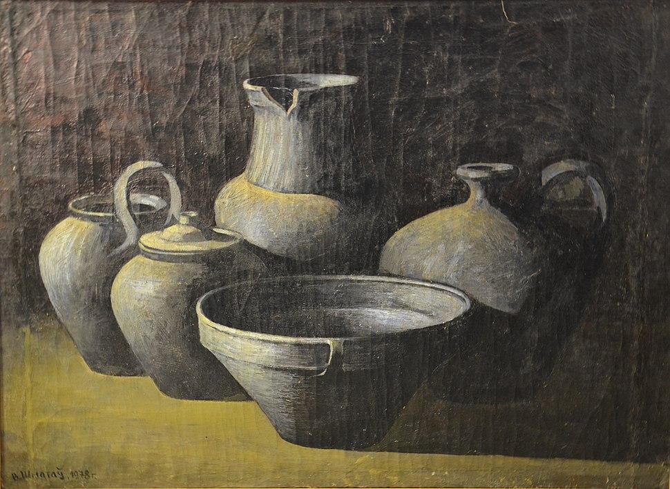 Viktar Smataŭ 1987 Belarusian Ceramics