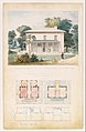 Villa for David Codwise, near New Rochelle, NY (project; elevation and four plans) MET DT361359.jpg