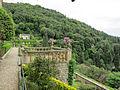 Villa san michele, giardino ovest 09 terrazza.JPG