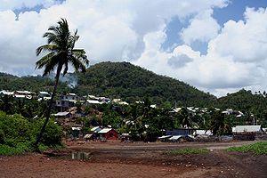 Bandrélé - Mtsamoudou village, Bandrélé commune