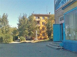 Lokomotivny Work settlement in Chelyabinsk Oblast, Russia