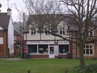 Newnham, Northamptonshire - The former Post Office, now a 'Mace' store