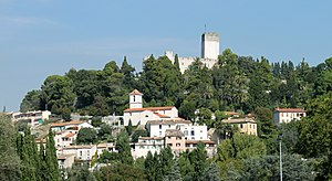 Villeneuve-Loubet - The village overlooked by the Château de Villeneuve-Loubet