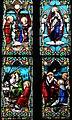 Villeréal - Église Notre-Dame - Vitrail de la vie de Marie -1.jpg