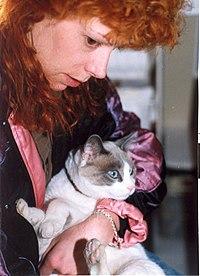 Viper and cat