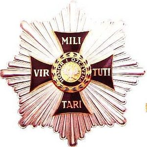 Józef Poniatowski - Grand Cross Star of Virtuti Militari Order