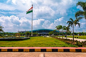 Visakhapatnam Airport - Lush Green surroundings of the airport