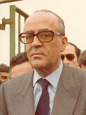 Leopoldo Calvo-Sotelo - Image: Visita de Leopoldo Calvo Sotelo a El Puerto de Santa María (centered)
