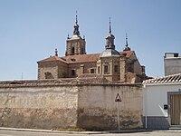 Vista de la iglesia mayor de Orgaz.JPG