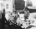 Vivi Gjerstad rider kamel. Nicosia - SMVK - C02409.tif