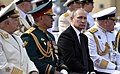 Vladimir Putin and Sergey Shoigu - Saint-Petersburg 2017-07-30 (3).jpg