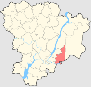 Leninsky District, Volgograd Oblast - Image: Volgogradskaya oblast Leninsky rayon