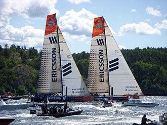 Volvo Open 70 - Image: Volvo Ocean Race 2009b