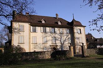 Muntelier - Von Ernst manor house