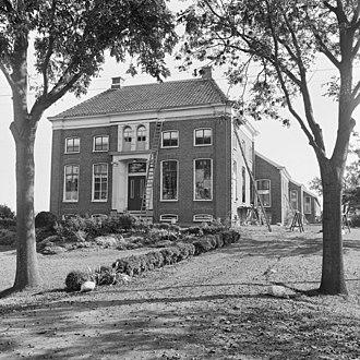 Den Ham, Bellingwedde - Farm house in 1969
