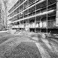 Voorzijde, stoep en bordes. Huis in de steigers - Nieuw-Loosdrecht - 20337334 - RCE.jpg