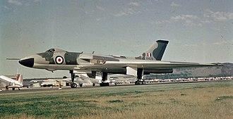 RAAF Base Pearce - Image: Vulcan RAF XH479, RAAF Pearce