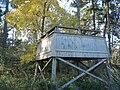 W-rannan lintutorni, Luolalanjärvi, Naantali, 14.10.2009.JPG
