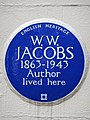 W.W. JACOBS 1863-1943 Author lived here.jpg
