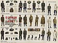 WW2 German Army Wehrmacht Uniforms Field gray Mountain Tropical Mobile troops etc Newsmap Vol 2 No 40 1944-01-24 US Government National Archives NARA Unrestricted Public domain 26-nm-2-40 002.jpg