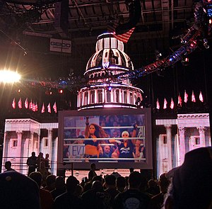 WWE Capitol Punishment - The set for Capitol Punishment