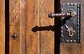 Wałbrzych, klamka drzwi kościoła. Foto Barbara Maliszewska.jpg