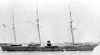 USS Wachusett (1861) - Image: Wachusett