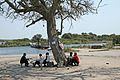 Waiting for the Ferry Zambia-Botswana - panoramio.jpg