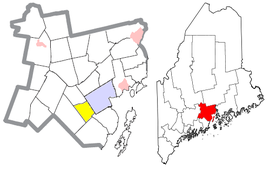Waldo County Maine Incorporated Areas Belmont Highlighted.png