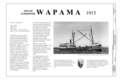Wapama, Title Sheet - Steam Schooner WAPAMA, Kaiser Shipyard No. 3 (Shoal Point), Richmond, Contra Costa County, CA HAER CAL,21-SAUS,1- (sheet 1 of 8).png