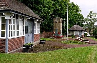 Birtley, Tyne and Wear - Image: War Memorial Garden, Birtley geograph.org.uk 1925600