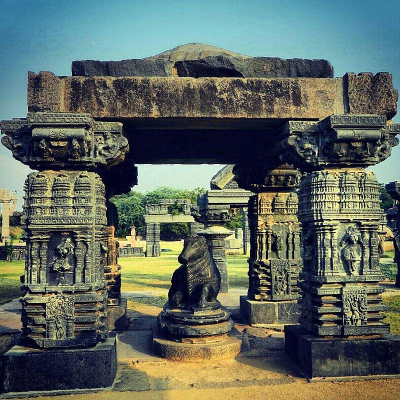 Warangal Fort. Courtesy: Wikimedia