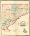 Warren County, Indiana map from 1877 atlas.png