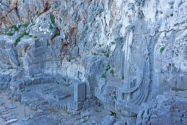 Warship relief at the acropolis of Lindos 2010 3.jpg