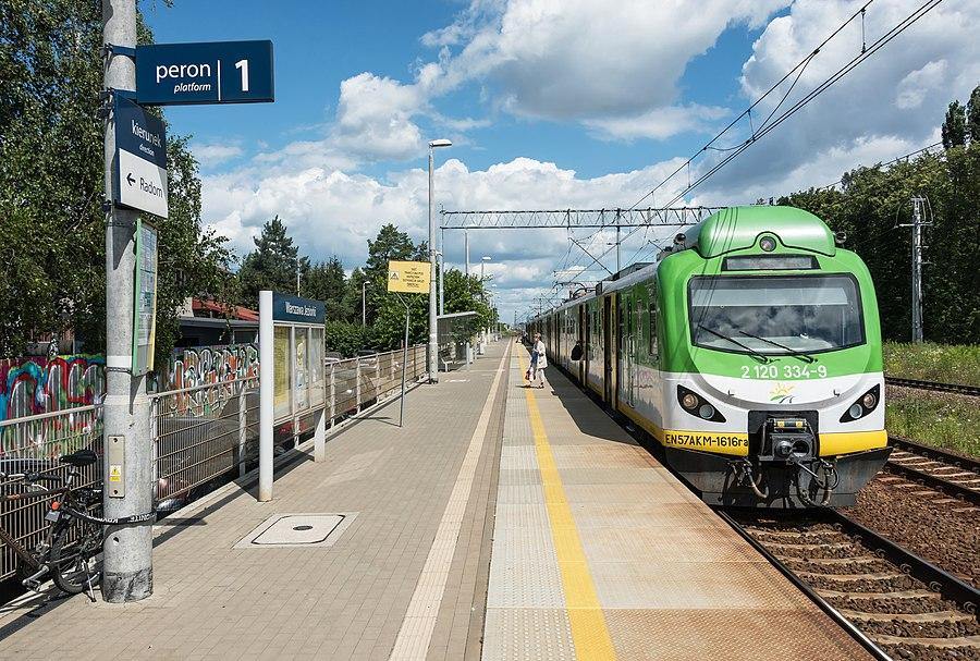 Warszawa Jeziorki railway station