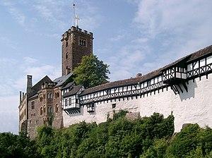 Saxe-Weimar-Eisenach - Wartburg Castle near Eisenach