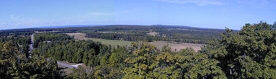 Panorama of NE Washington Island